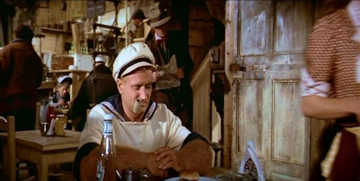 Popeye.Robin Williams