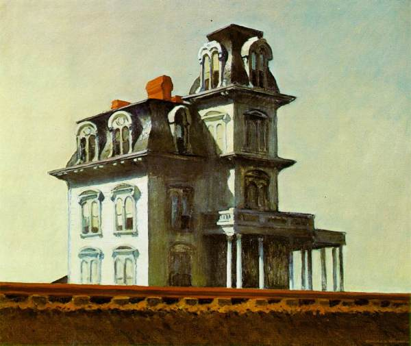 Edward Hopper.House-by-the-railroad
