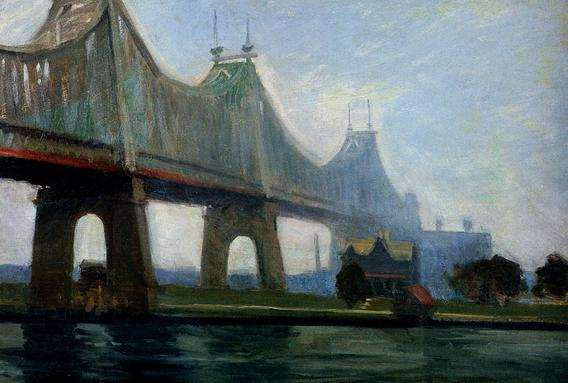 Edward Hopper.Queensborough Bridge 2