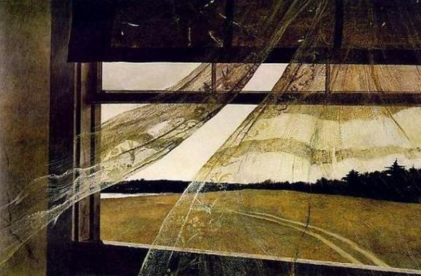 Andrew Wyeth.Wind from the sea