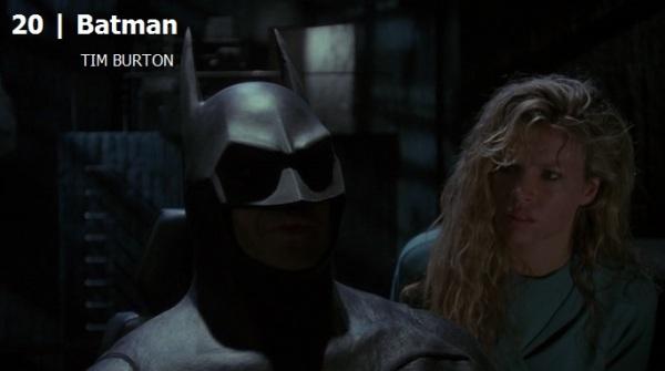Batman.Melhores filmes dos anos 80