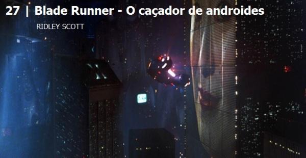 Blade Runner.Melhores filmes dos anos 80