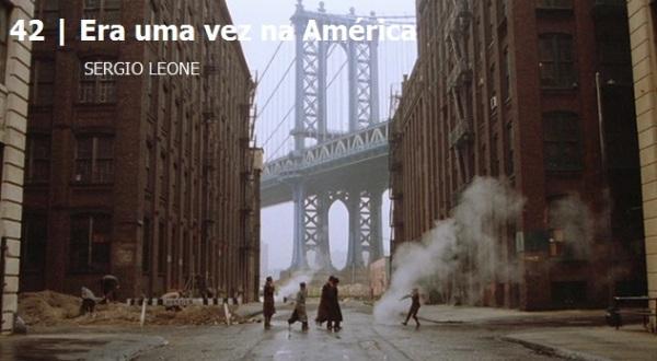 Era uma vez na América.Melhores filmes dos anos 80