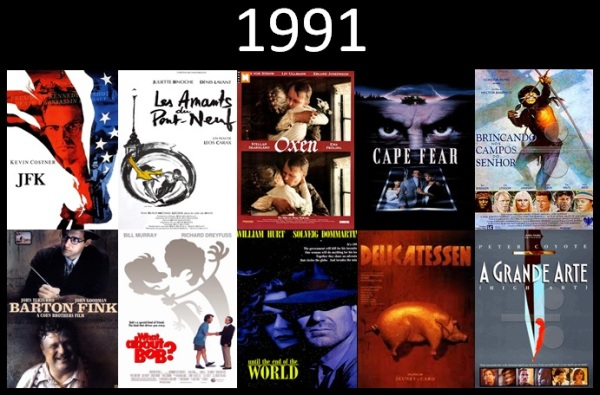 Melhores filmes.1991.Cinematographe