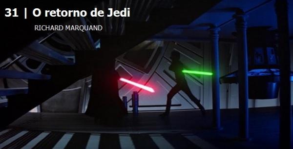 O retorno de Jedi.Melhores filmes dos anos 80