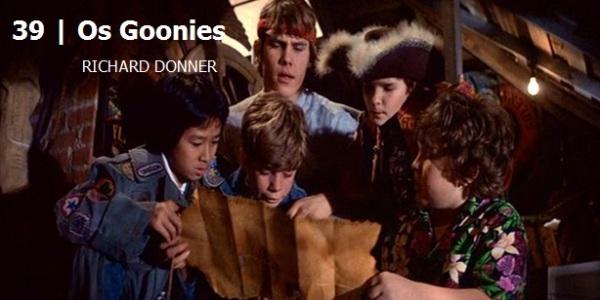 Os Goonies.Melhores filmes dos anos 80