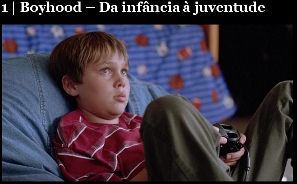 Melhores filmes.Boyhood