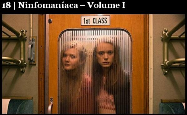 Melhores filmes.Ninfomaníaca - Volume I