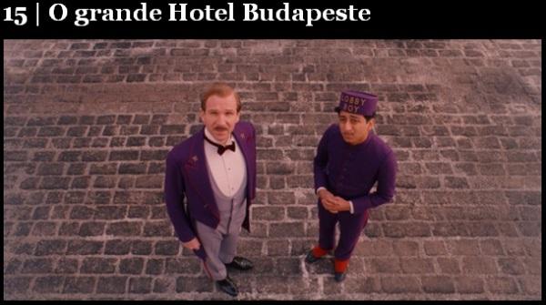 Melhores filmes.O Hotel Budapeste