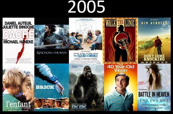 Melhores filmes.Cinematographe.2005.3