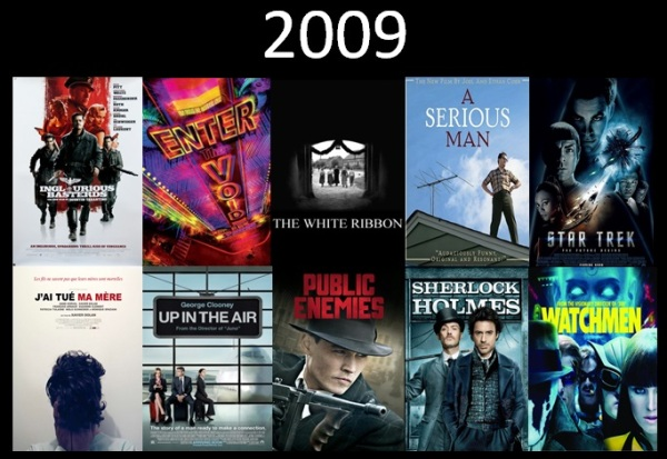 Melhores filmes.Cinematographe.2009